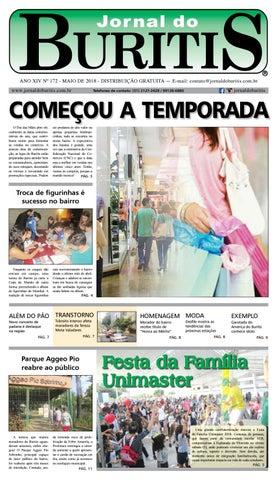 9a175bf0f8 Jornal do Buritis maio 2018 by Jornal do Buritis - issuu