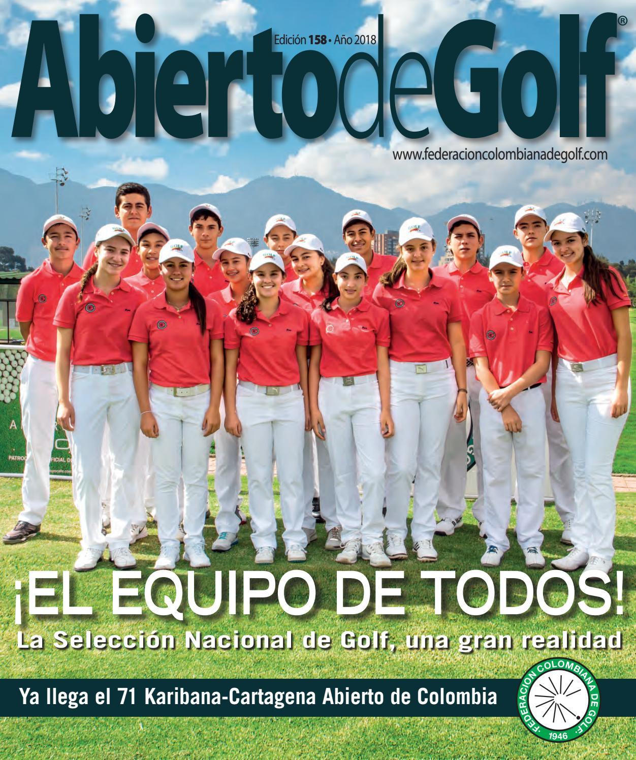 Abierto de Golf - Edición 158 by Prensa Fedegolf - issuu