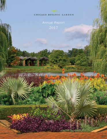 Chicago Botanic Garden Annual Report 2017 By Chicago Botanic Garden ...