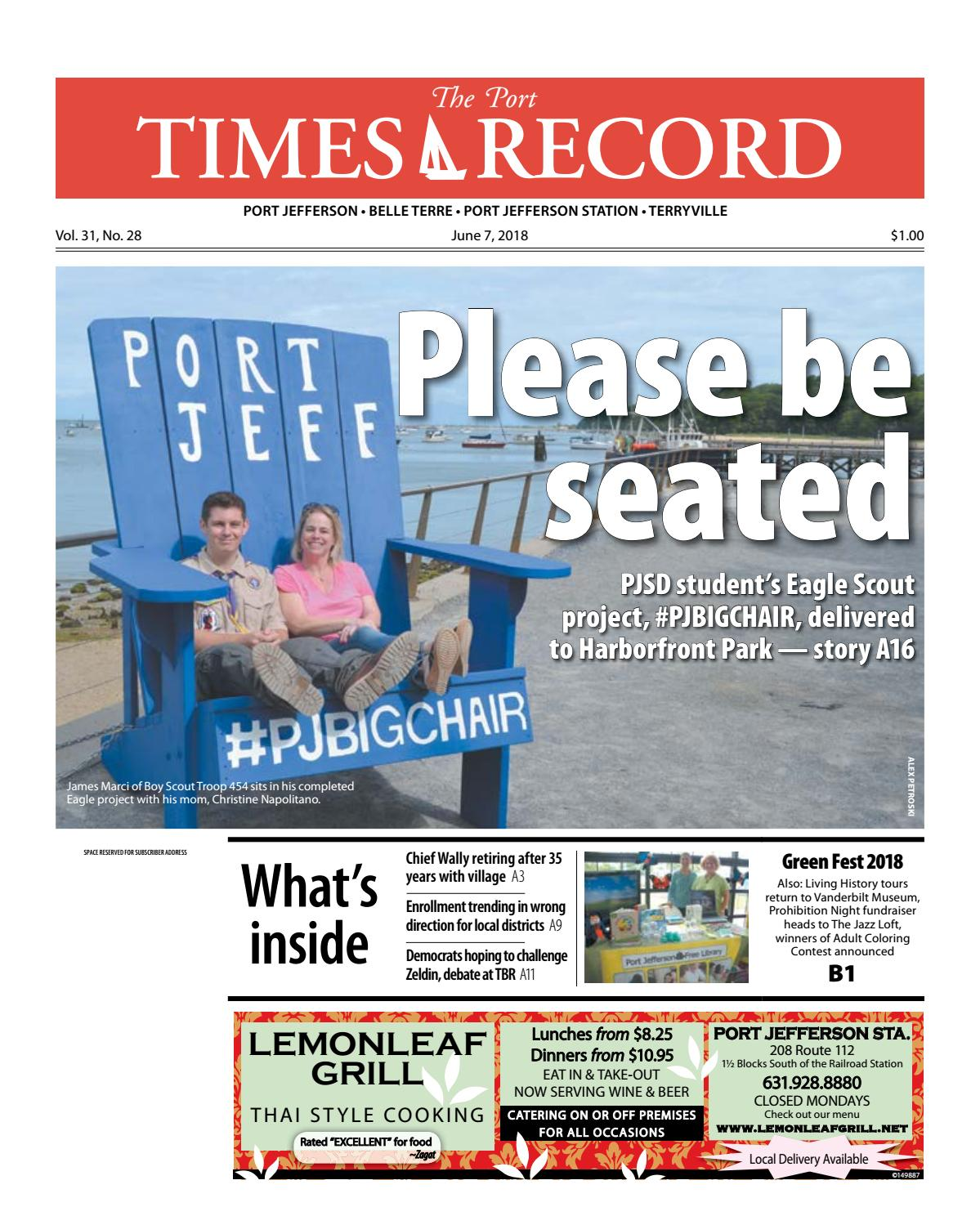 The Port Times Record - June 7, 2018 by TBR News Media - issuu