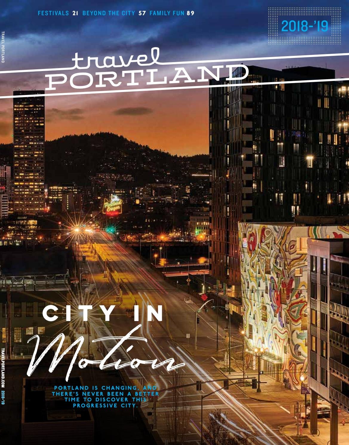 buy online d6393 c7def Travel Portland Visitors Guide, 2018- 19 by Travel Portland - issuu