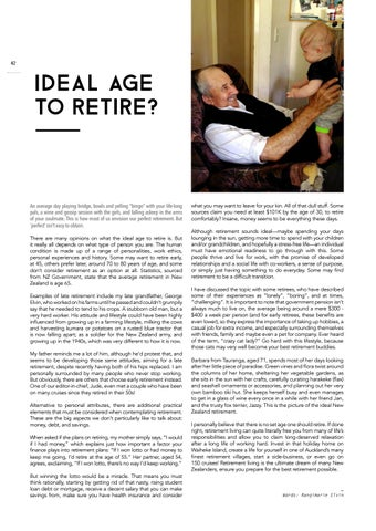 Page 44 of Ideal Age to Retire?