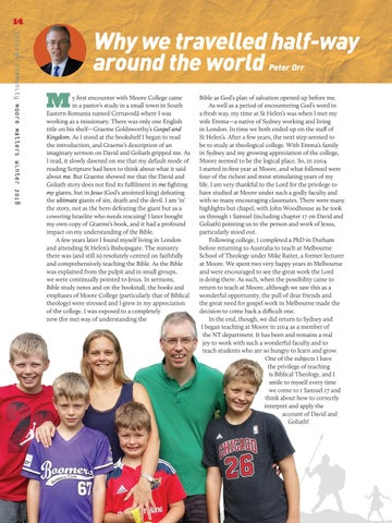 Page 14 of Why we travelled half-way around the world