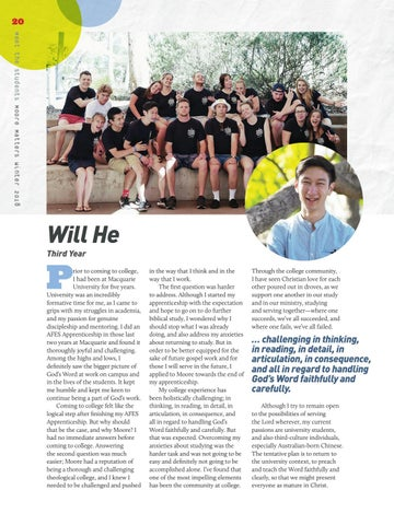 Page 20 of Meet the Students