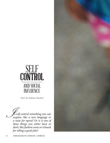 Page 20 of Self-Control and Social Influence