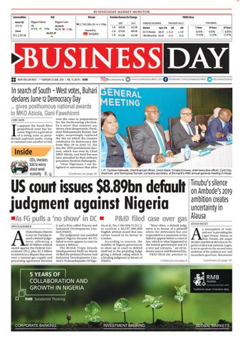 Businessday 07 jun 2018 by BusinessDay - issuu