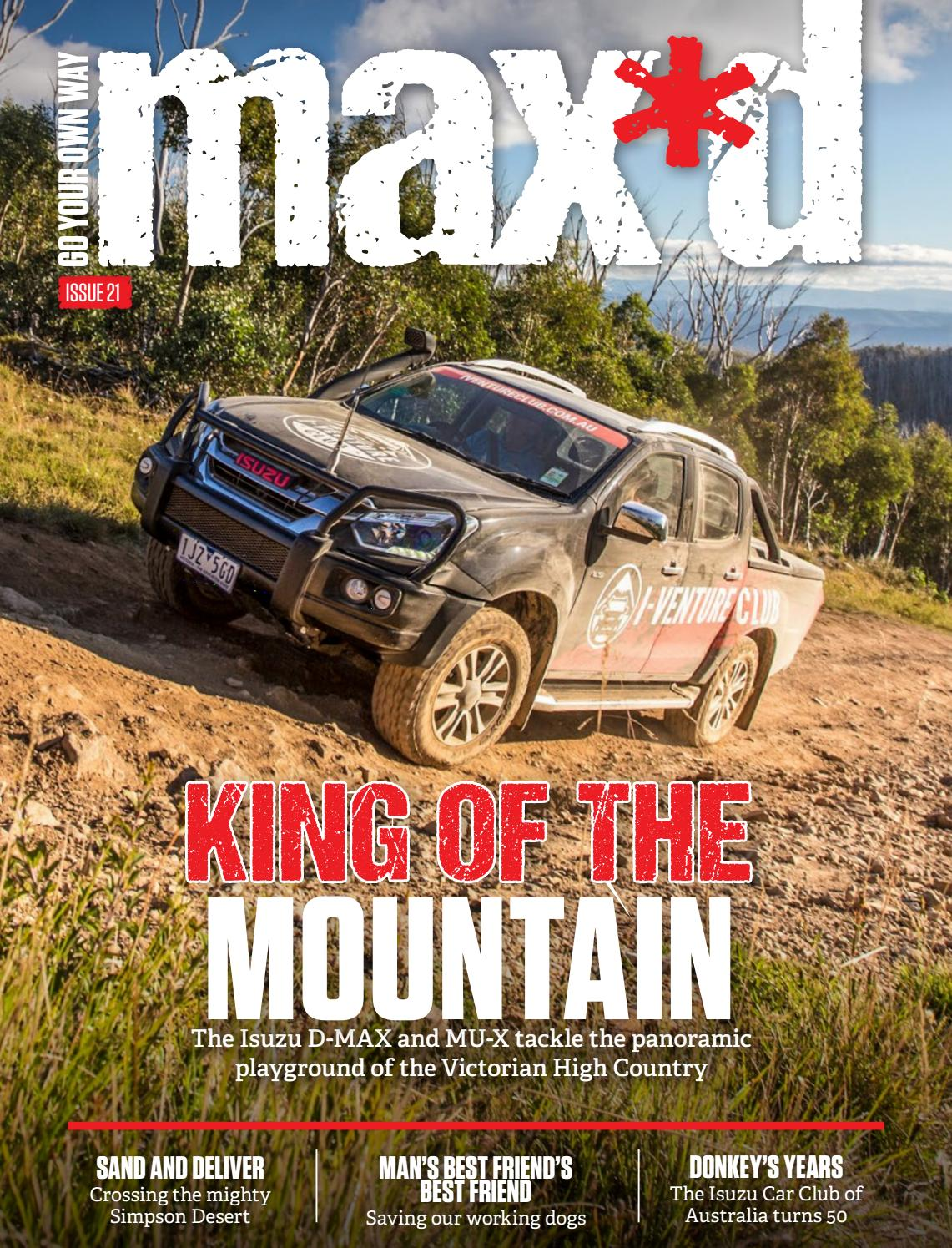 max*d Issue 21 by Isuzu UTE Australia - issuu