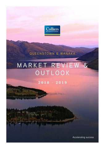 Page 1 of Colliers International Otago 2018-19 Market Report