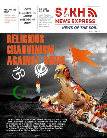 Sikh News Express Vol 2 Issue 1 by Sikh News Express - issuu