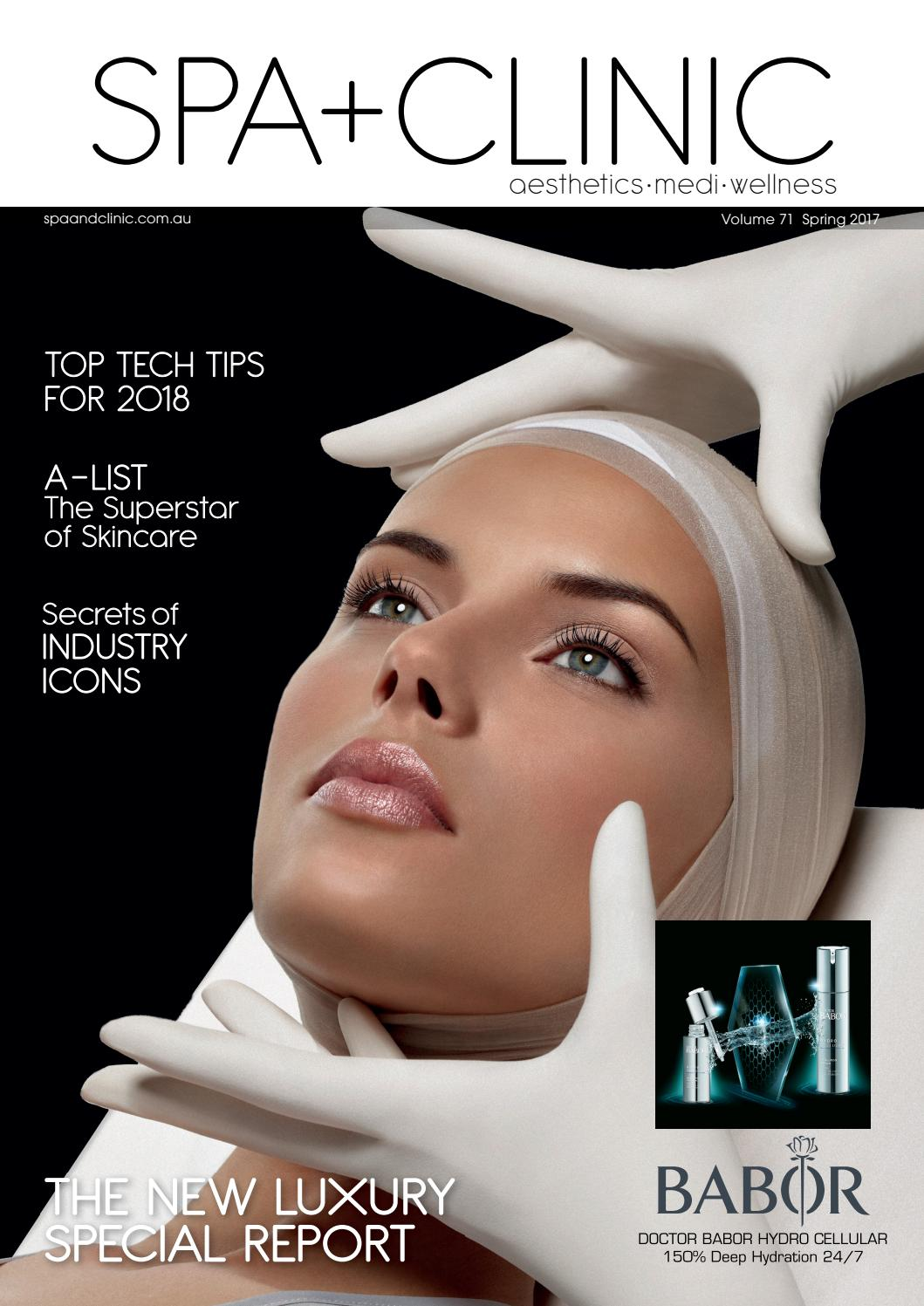 Spa Clinic Volume 71 Spring 2017 By The Intermedia Group Issuu