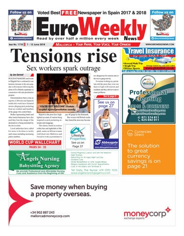 Euro Weekly News - Mallorca 7 - 13 June 2018 Issue 1718 by