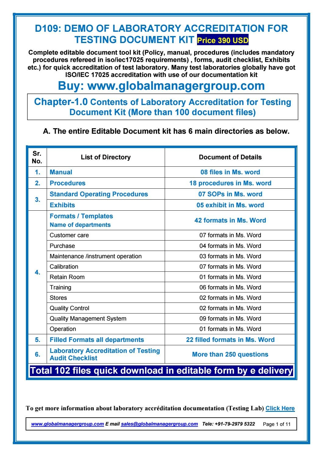 Nabh Standard Documents By Global Manager Group Issuu
