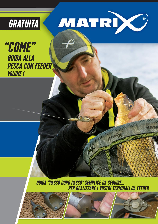 Method feeder in linea per pesca alla carpa con formina in gomma a rilascio facile