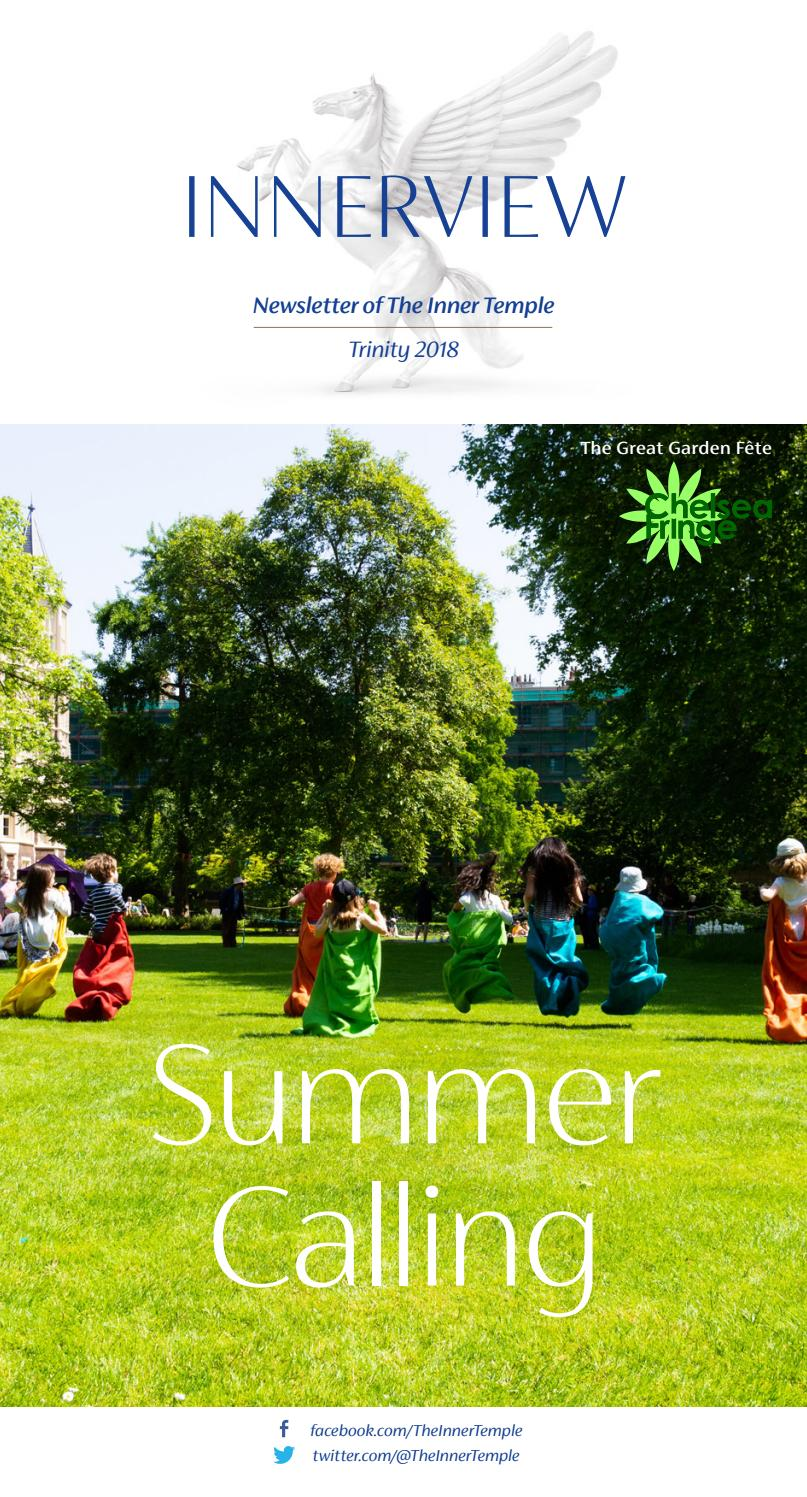 Innerview Trinity 3 2018 by The Inner Temple - issuu
