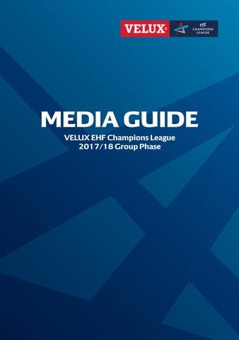 ac8233ff11b6ea Guia EHF Champions League 2017-2018 by Gerardo Rey - issuu