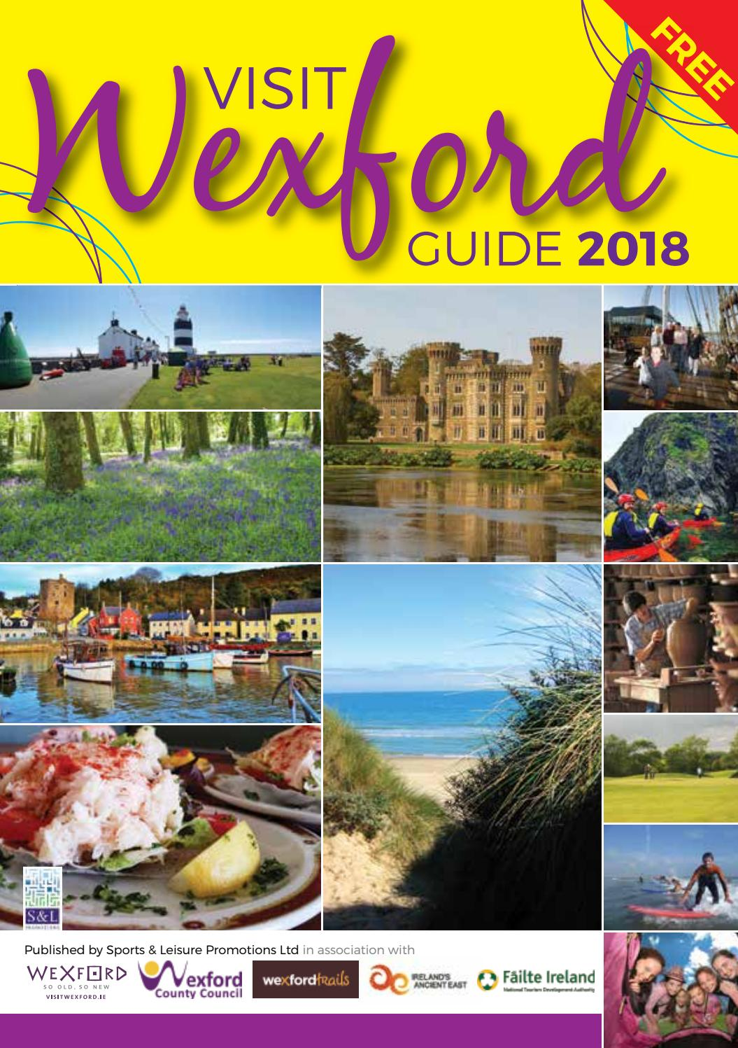 Visit Wexford Guide 2018 by Senior Times Magazine Ireland