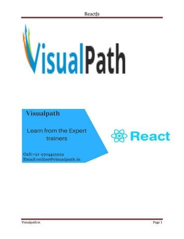 Reactjs by example pdf | Pro react js pdf by chandu chinnu