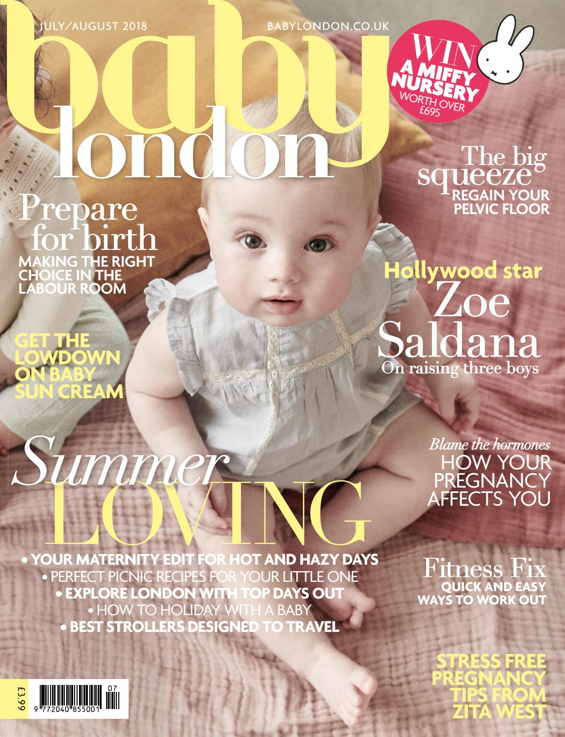 505e104b93f Baby London July/August 2018 by The Chelsea Magazine Company - issuu