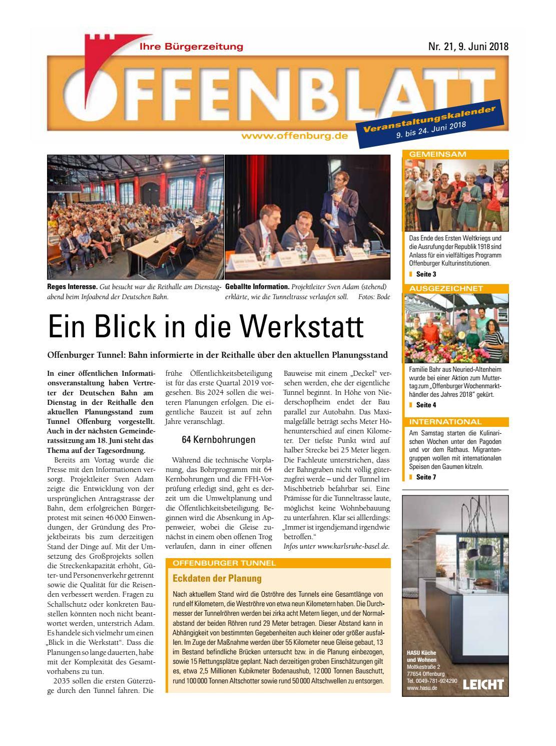 Offenblatt 21 2018 by Offenburg Offenblatt - issuu