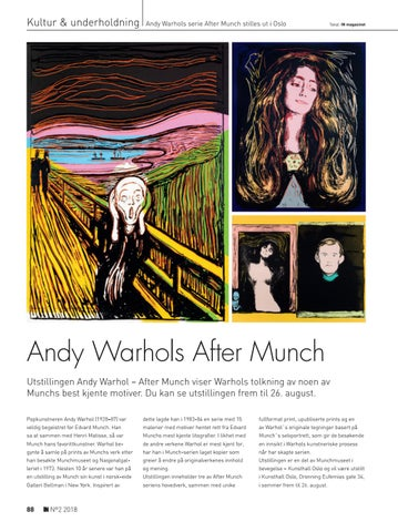 Page 88 of Andy Warhols After Munch