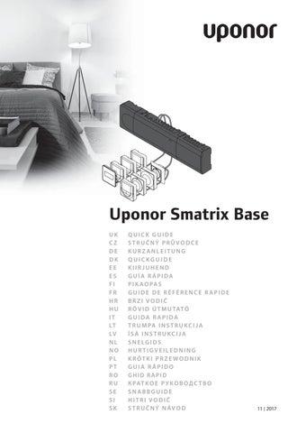 a12d0dfc5d8 Uponor qg smatrix base international by Uponor Estonia - issuu