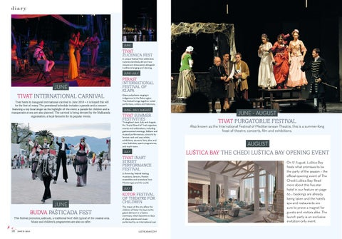 Page 9 of Get ready for summer in Montenegro - Lustica Bay Events Diary