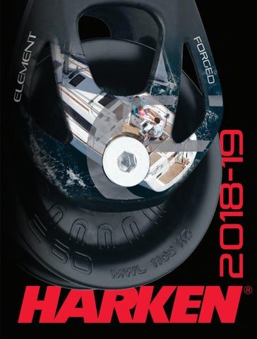 E2700 Midrange Genua End Controls Traveller // 27 mm Boot Harken