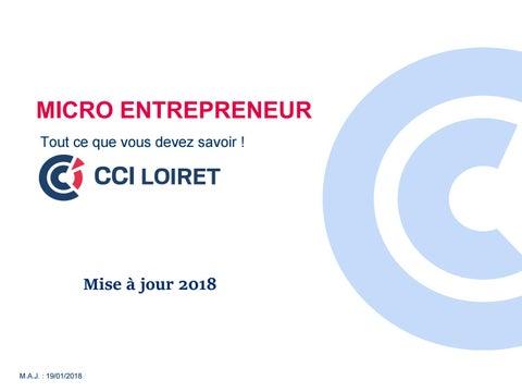 2018 Tout Ce Que Vous Devez Savoir Sur Le Micro Entrepreneur By Cci