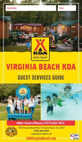 Guest Name Site Virginia Beach