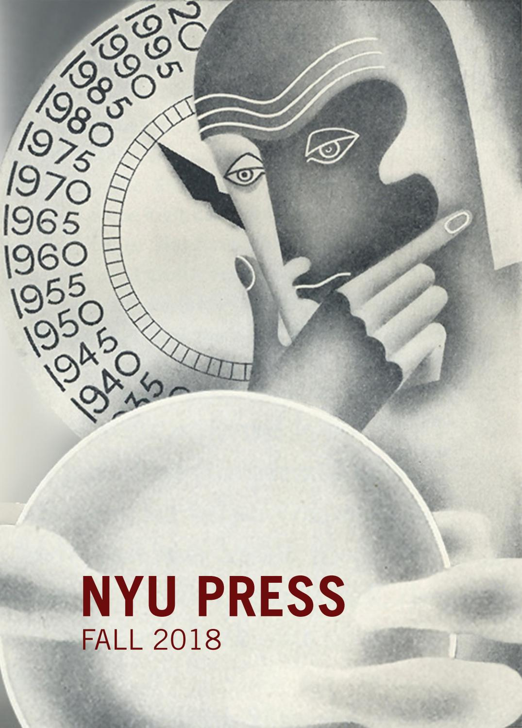 Fall 2018 Nyu Press Catalog By Nyu Press Issuu