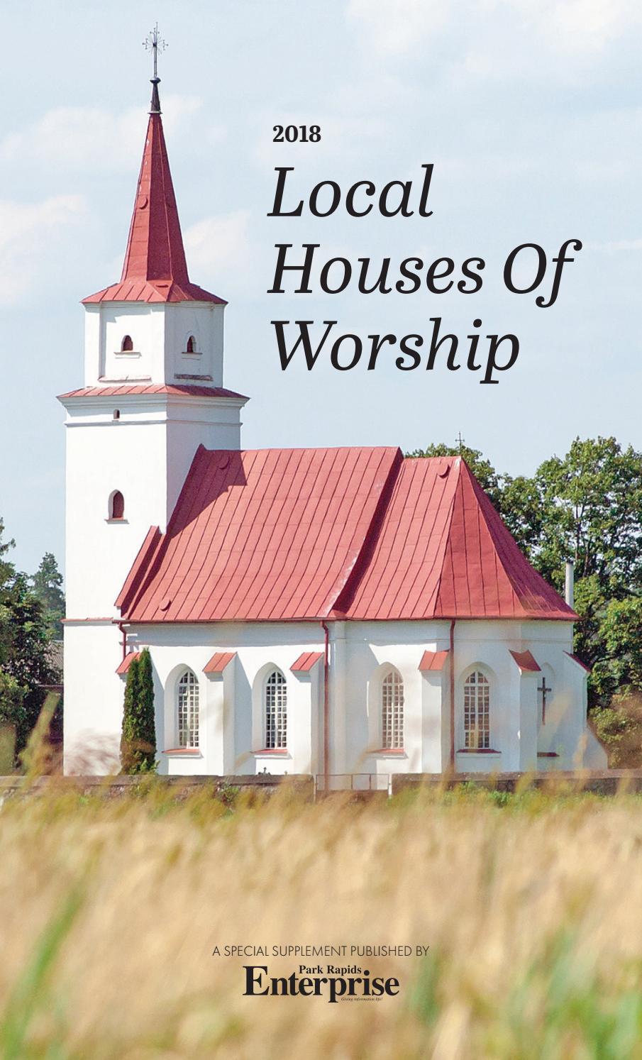 2018 Church Book by Park Rapids Enterprise - issuu