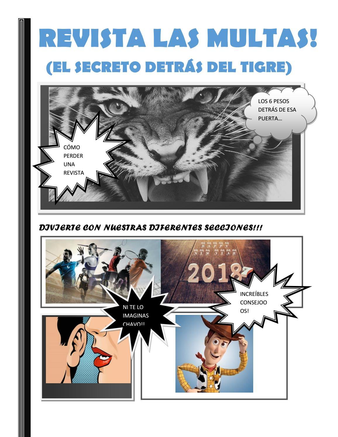 revista las multas by Keyla Hau - issuu