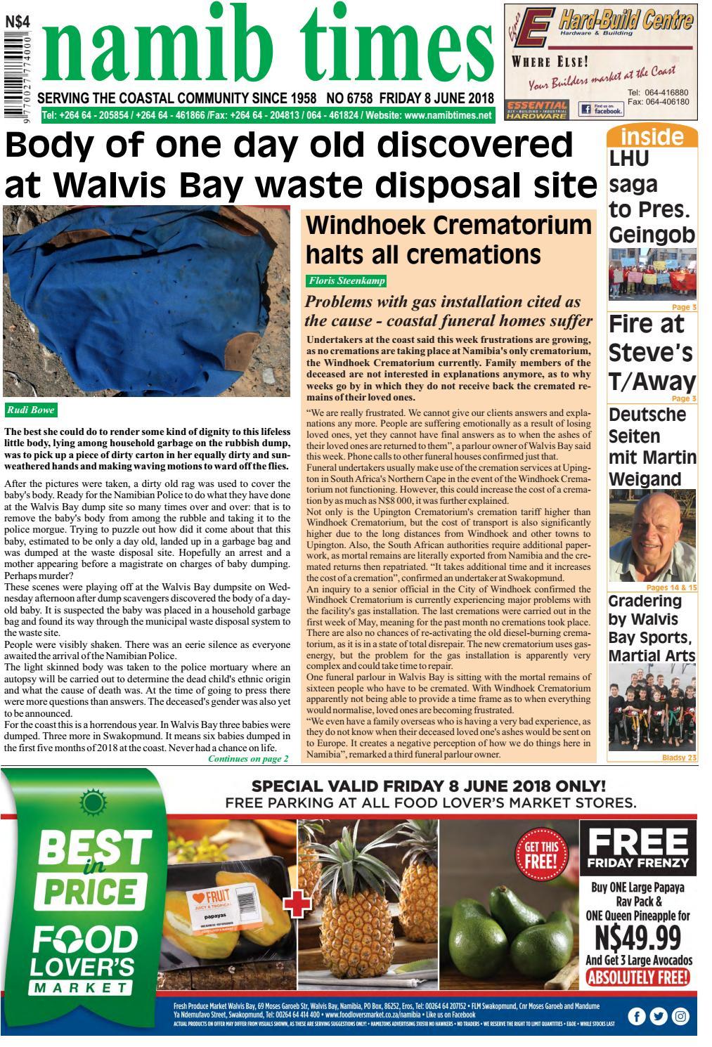 08 June Namib Times E Edition By Namib Times Virtual Issuu