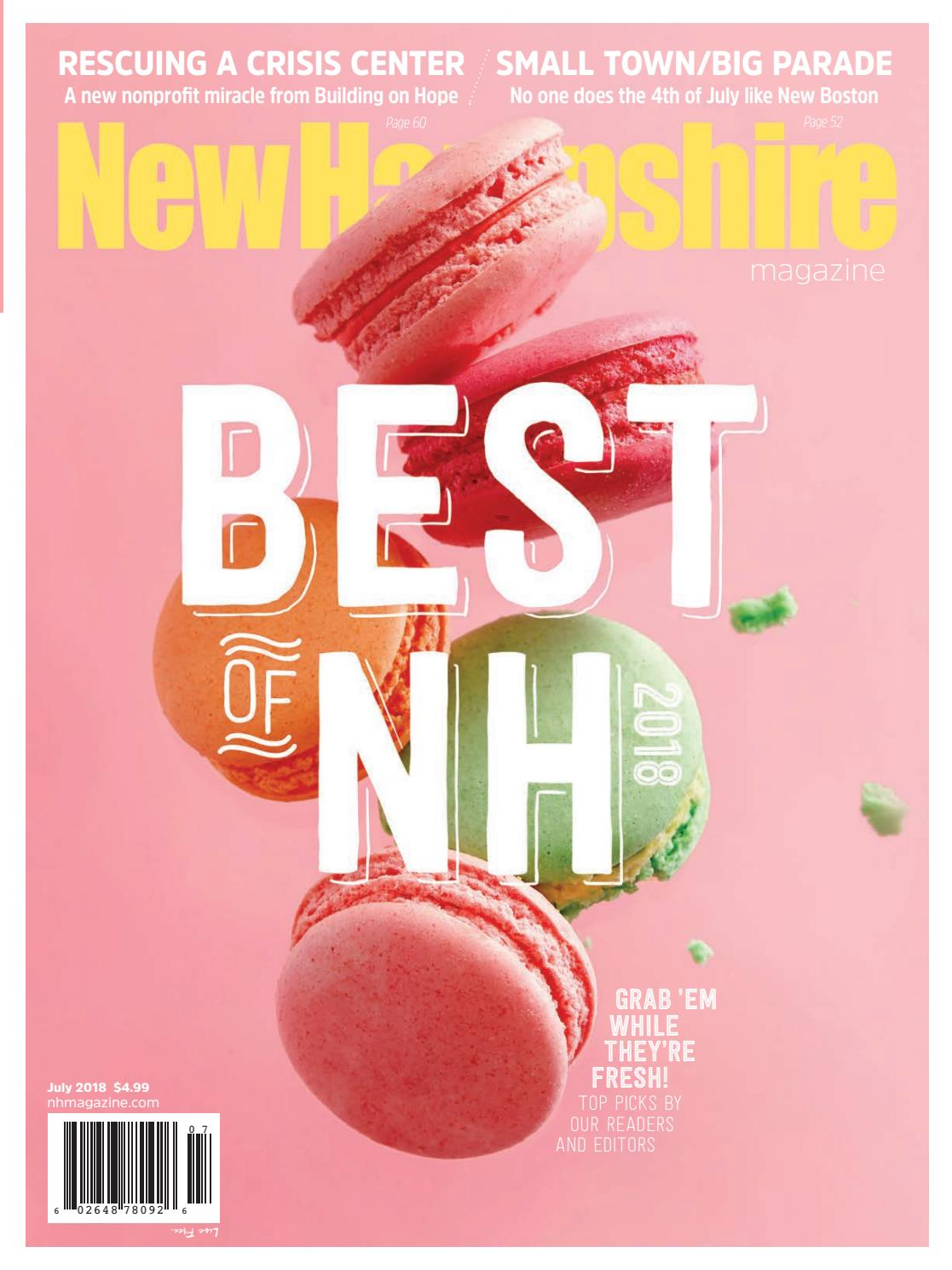 New Hampshire Magazine July 2018 By Mclean Communications Issuu