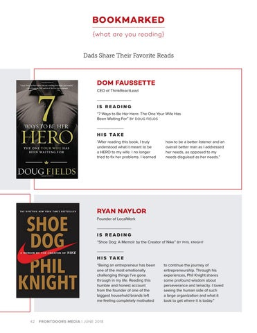 Page 42 of Bookmarked: Dads Share Their Favorite Reads