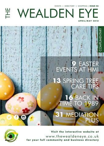 269125e0166 Wea001 magazine aprilmay 2018 singlepages by The Wealden Eye - issuu