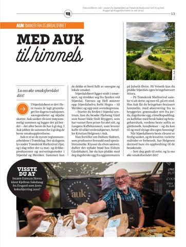 Page 13 of Auk - Smaker av Stjørdalsføret