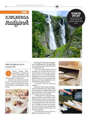 Page 18 of Sjølberga tradisjoner