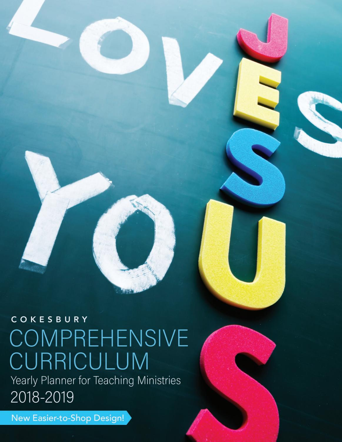 Cokesbury Comprehensive Curriculum by United Methodist Publishing ...
