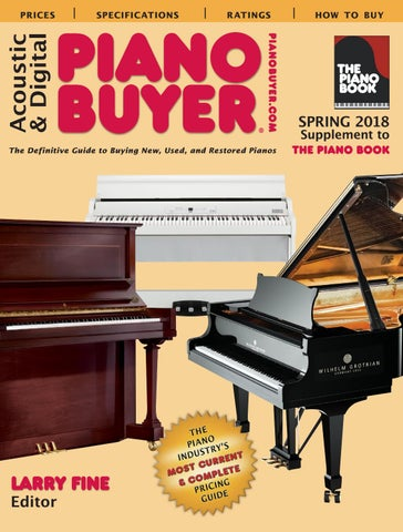 Piano buyer spring 2018 by moore creative issuu page 1 fandeluxe Gallery