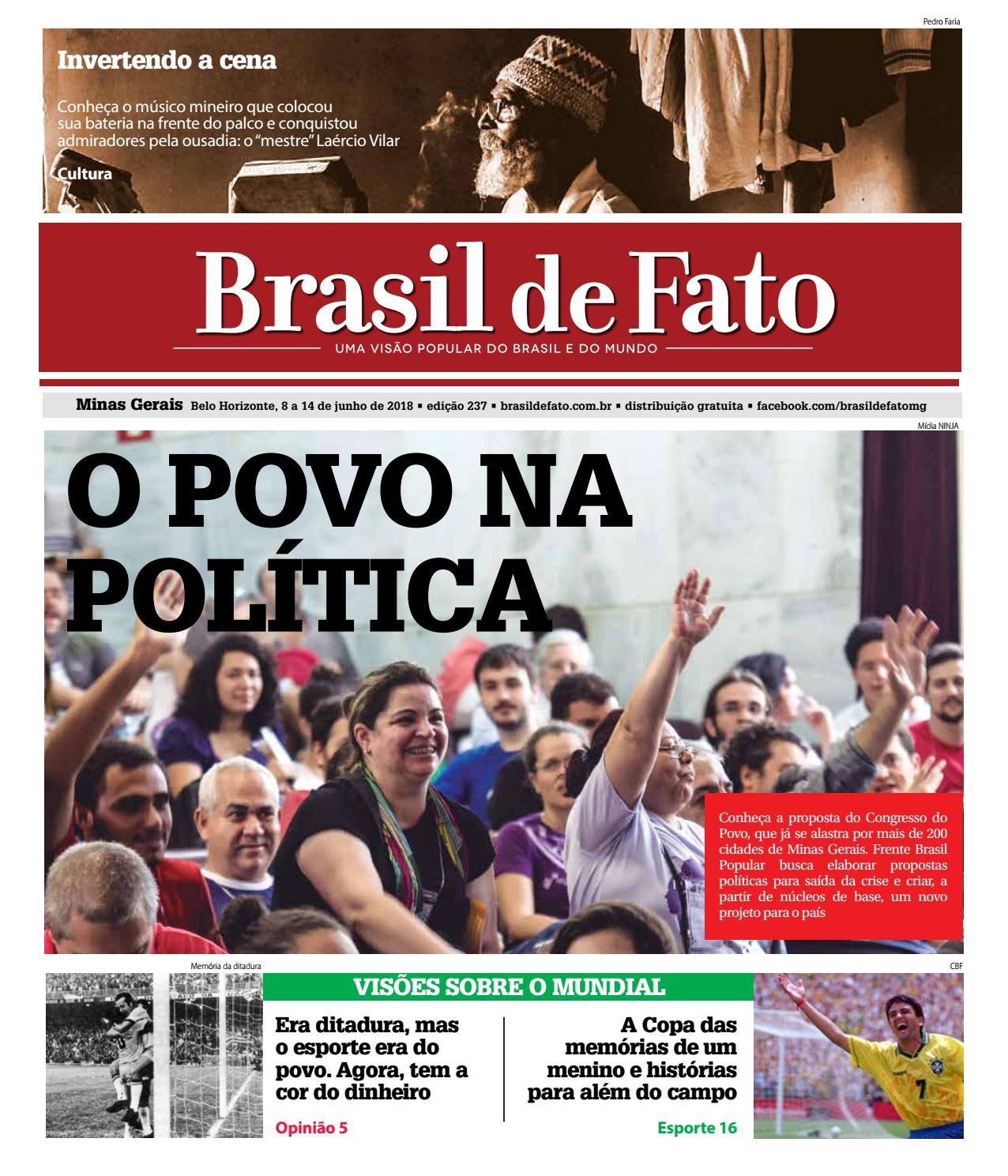 c1b88f9c9c Edição 237 do Brasil de Fato MG by Brasil de Fato MG - issuu