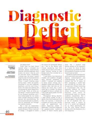 Page 46 of Diagnostic deficit