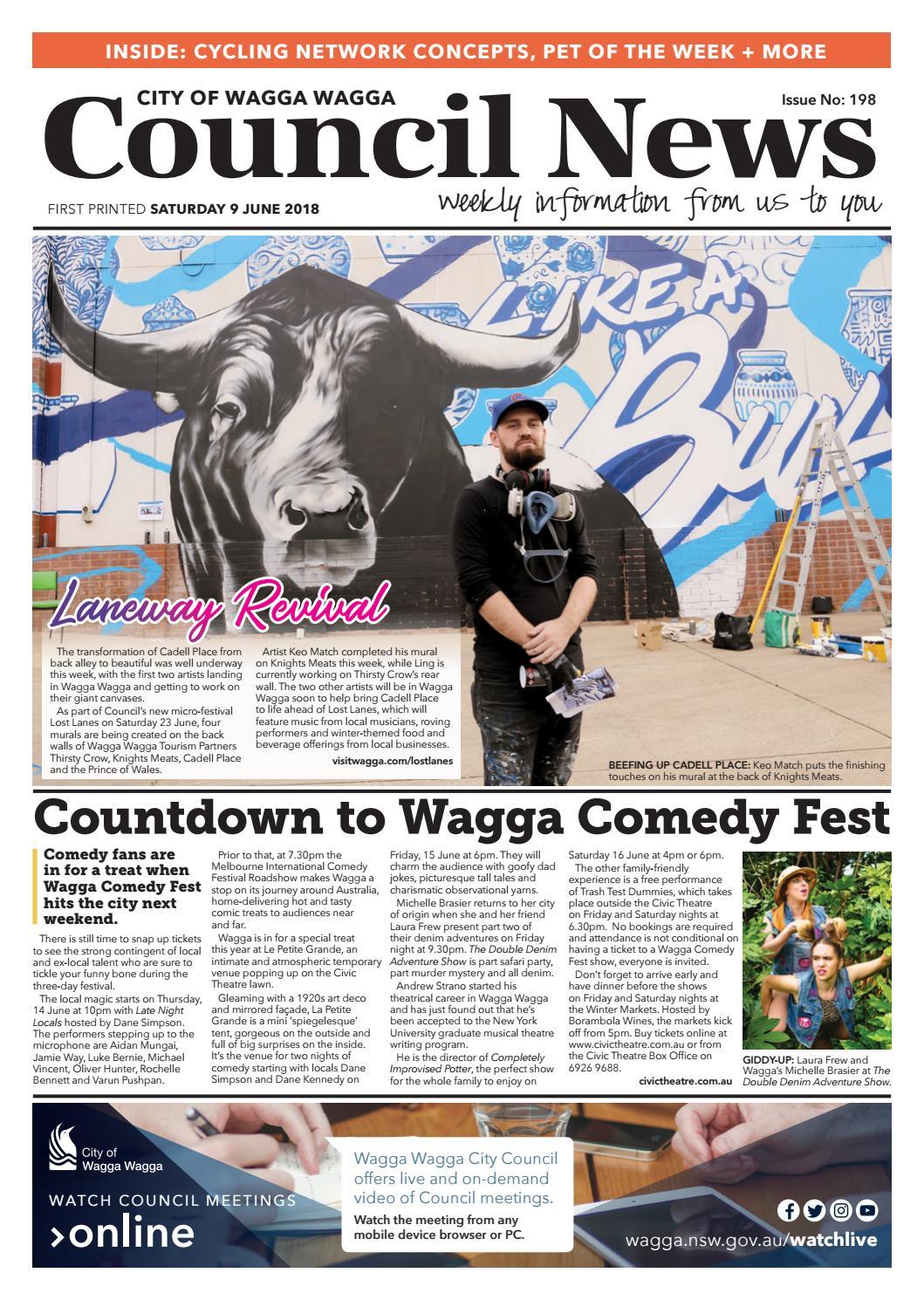 Council News #198 - 9 June 2018 by Wagga Wagga City Council