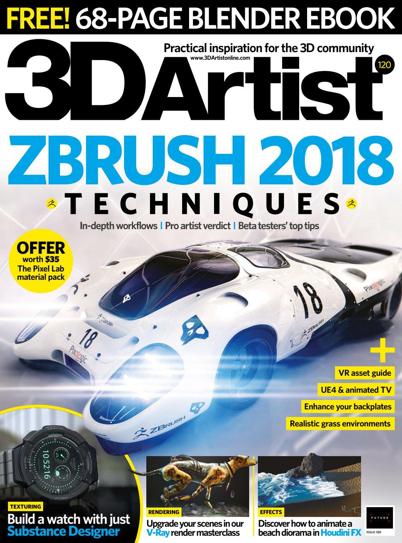 3d artist 120 2018 by Daniel Ahuactzin - issuu