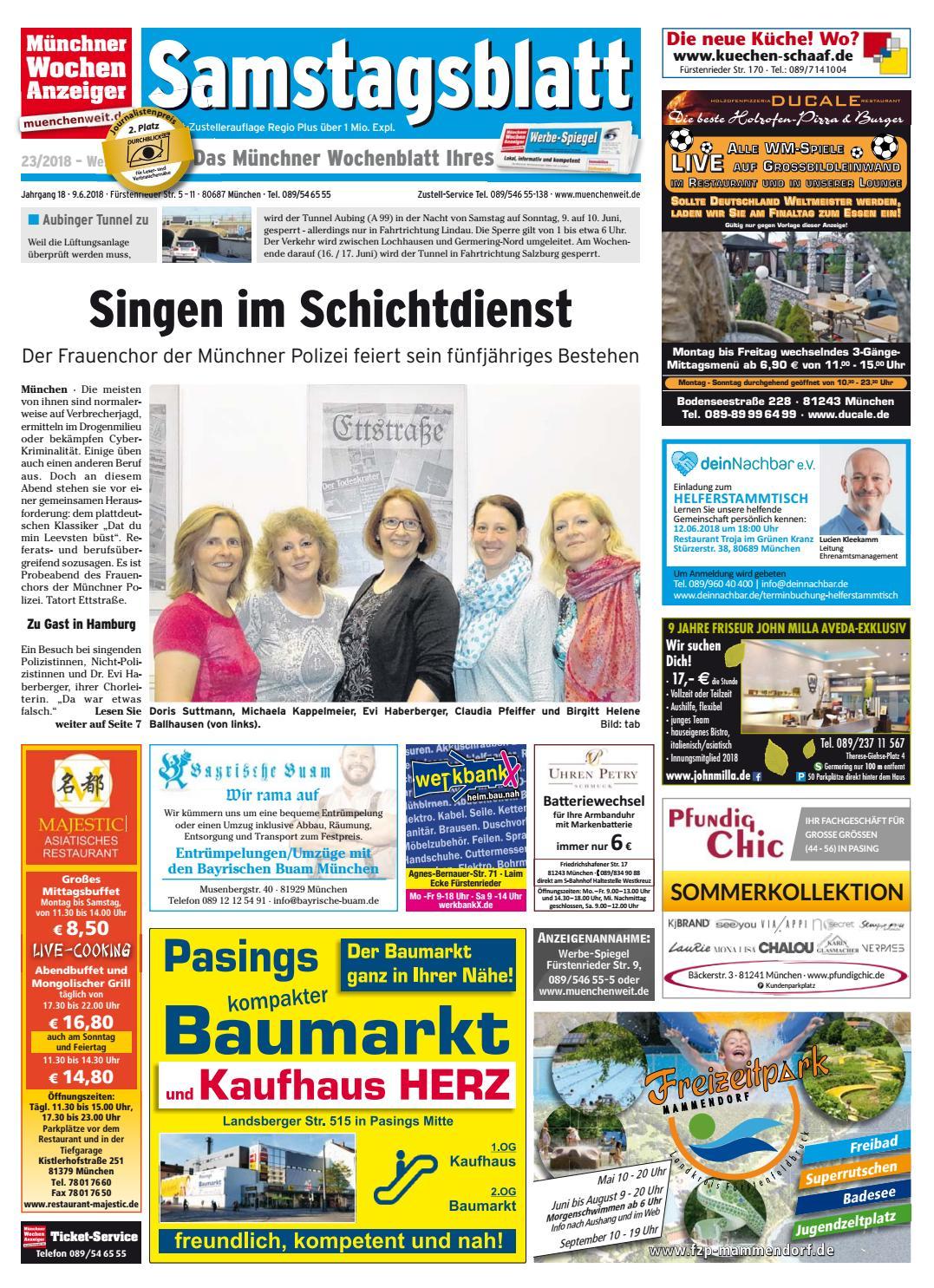 KW 23-2018 by Wochenanzeiger Medien GmbH - issuu