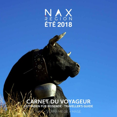 Carnetduvoyageur ete18 web by Nax Région Tourisme issuu