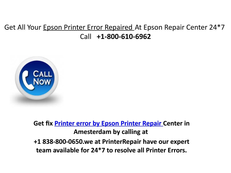 Get all your epson printer error repaired at epson repair