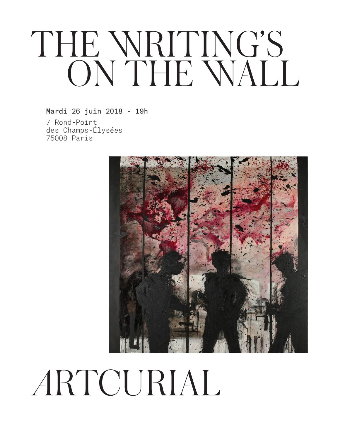 The Writing s on the Wall by Artcurial - issuu 04c4559212d