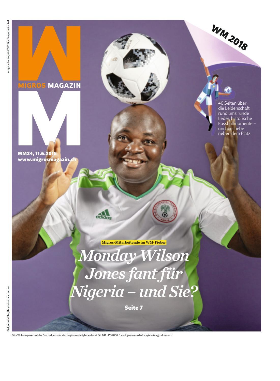 Migros magazin 24 2018 d lu by Migros Genossenschafts Bund