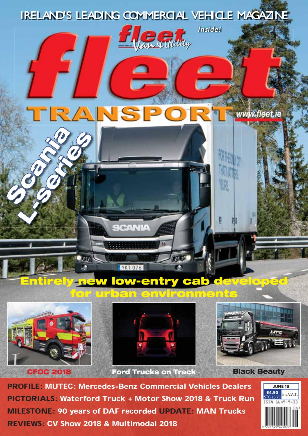 Fleet Transport June18 By Issuu 1994 Nissan Pathfinder Only Runthe Switch In Start Position